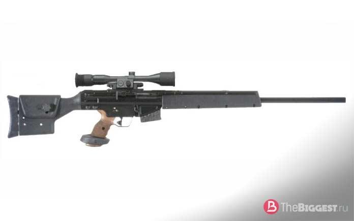 Лучшие снайперские винтовки: PSG1