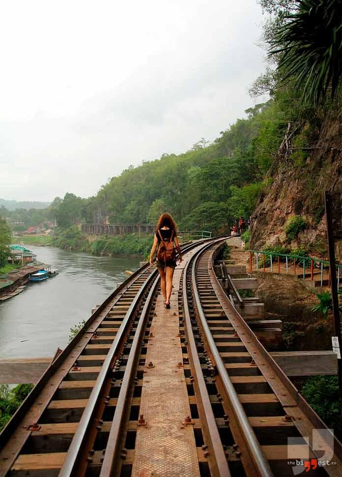 длинные железные дороги. CC0
