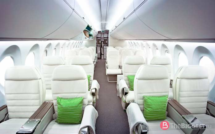 Самые большие авиакомпании в мире: aircraft interior design