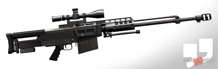Лучшие снайперские винтовки: AS50. CC0