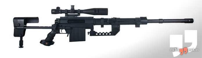 Лучшие снайперские винтовки: CheyTac Intervention М200. CC0