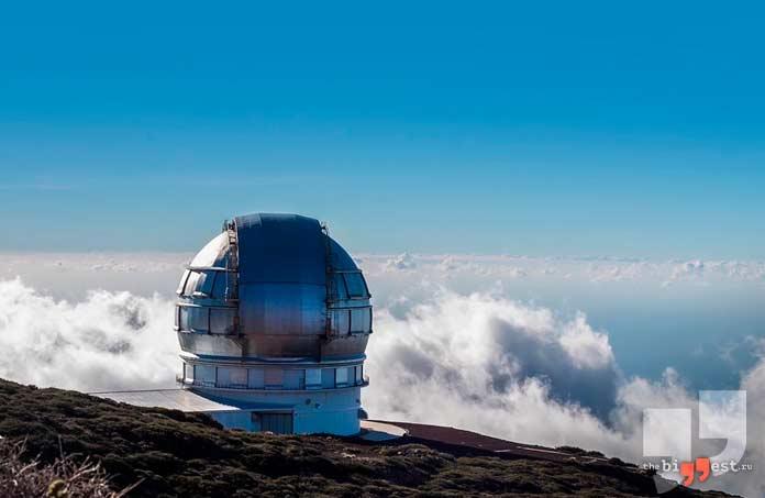 Gran Telescopio Canarias. CC0