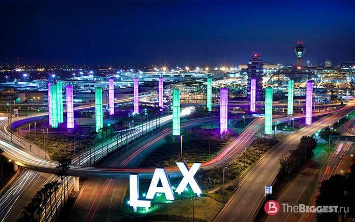 Крупнейшие аэропорты мира: lax
