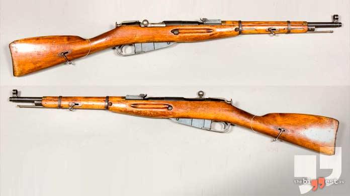Лучшие снайперские винтовки: Винтовка Мосина. CC0