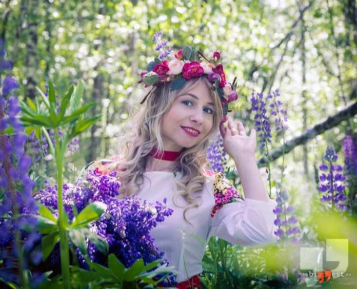 Русская женщина. CC0