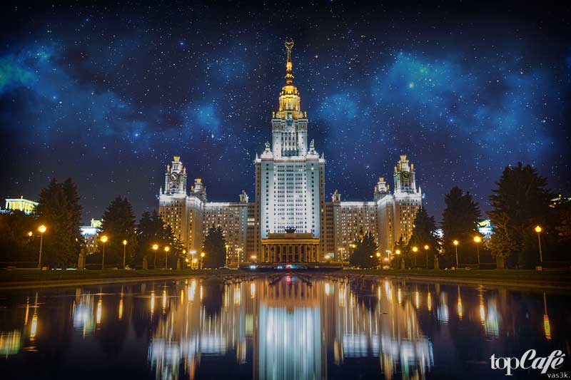 лучшие ВУЗы России: МГУ