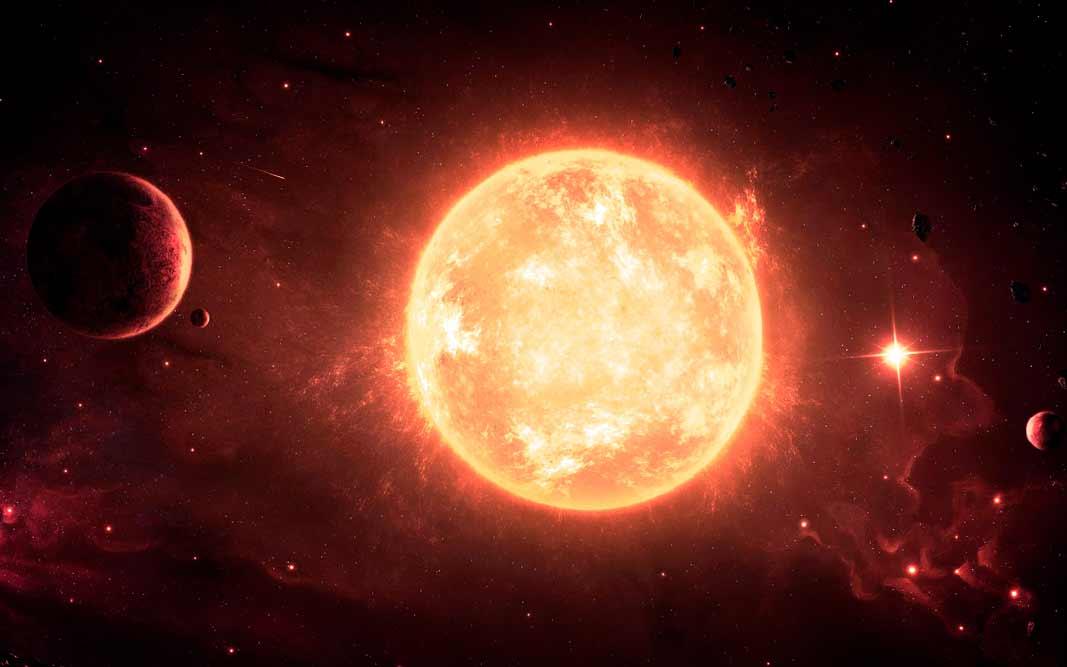 Самые большие звёзды