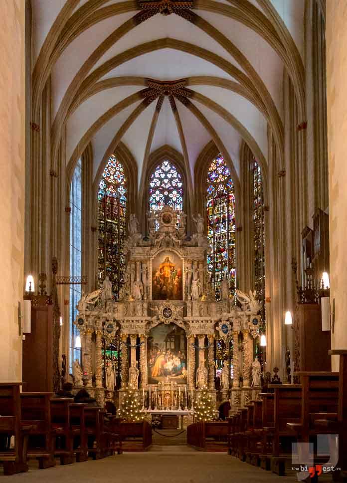 Erfurt Cathedral pipe organ. CC0