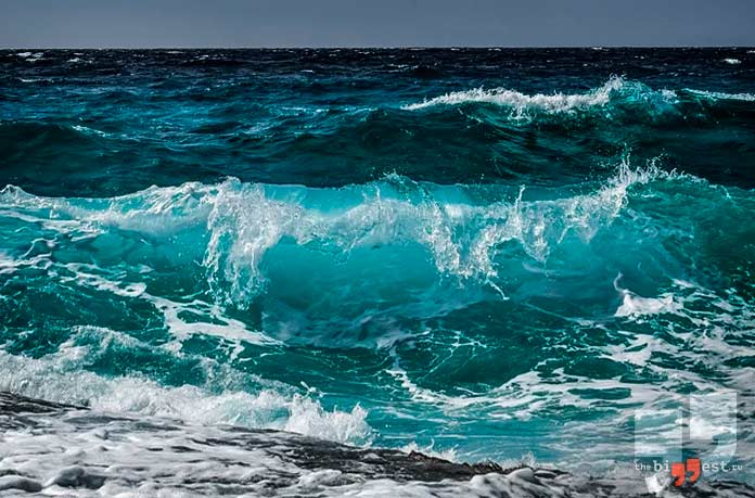 Волны Тихого Океана. CC0
