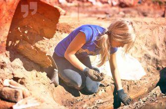 Девушка археолог. CC0