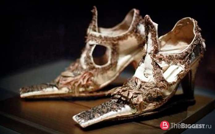 Туфли XV века