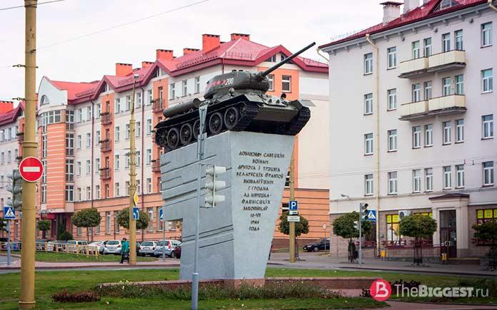 Самые большие города Беларуси: Гродно