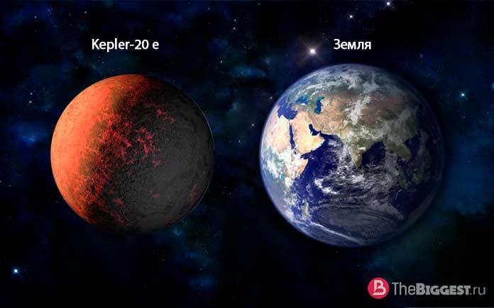 Кеплер 20 е