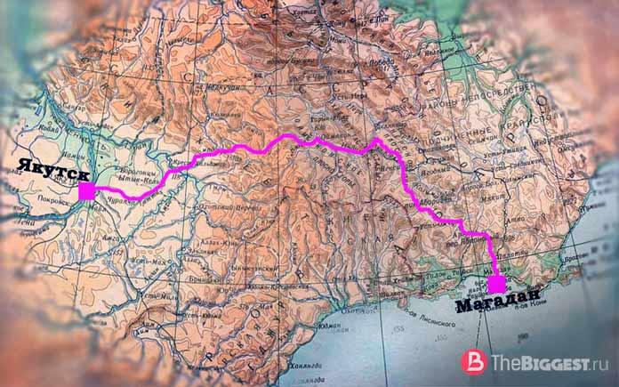 Федеральная автомобильная дорога Р504 «Колыма́»