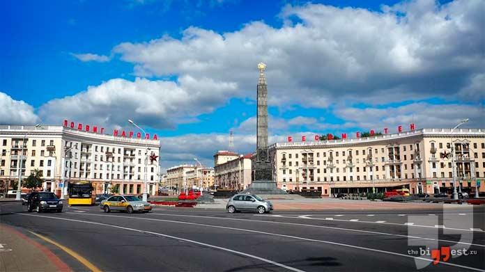 Самые крупные города Беларуси: Минск. CC0