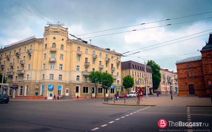 Самые крупные города Беларуси: Могилев