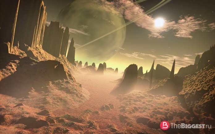 Пустынная планета