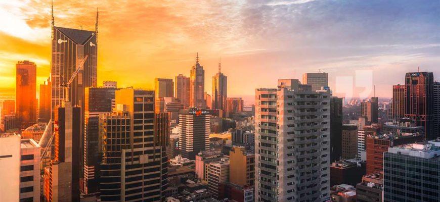 Самые большие города Австралии. CC0