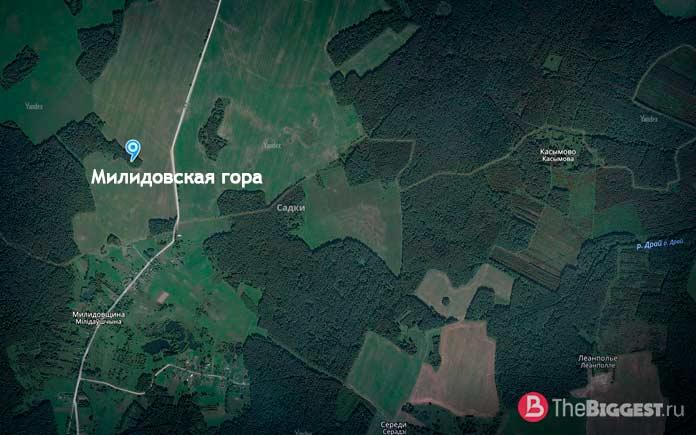 Гора Милидовская