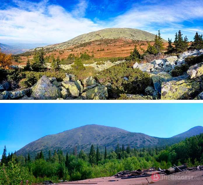 Ямантау - самая высокая гора Башкирии