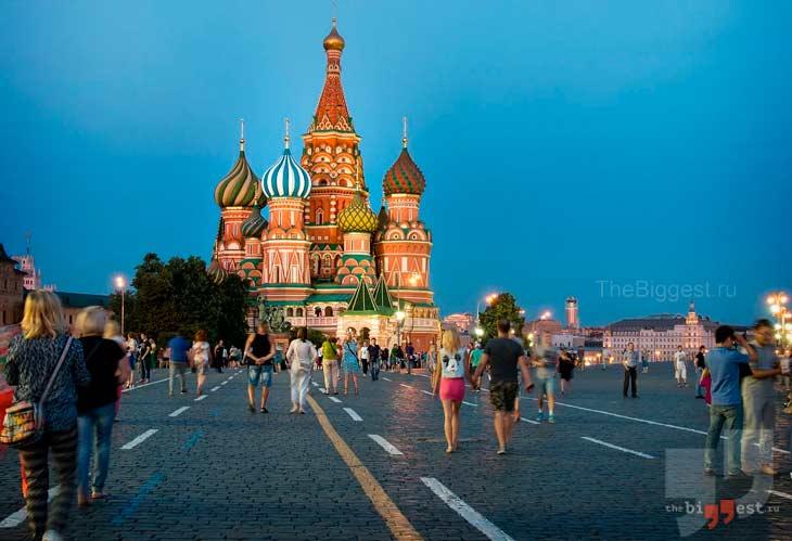 Храм Василия Блаженного. CC0