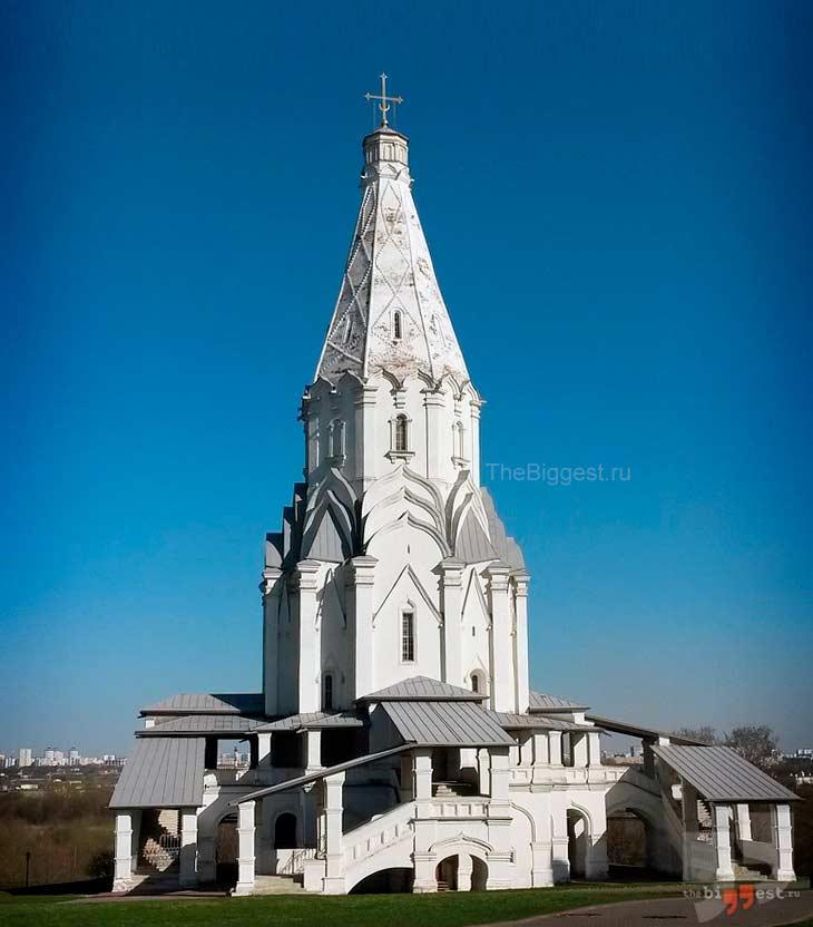 Церковь Вознесения в Коломенском. CC0