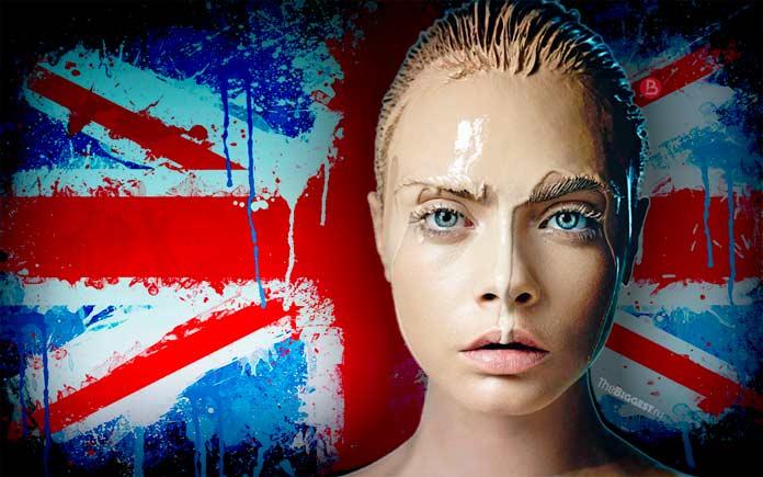 Фото красивых британских моделей