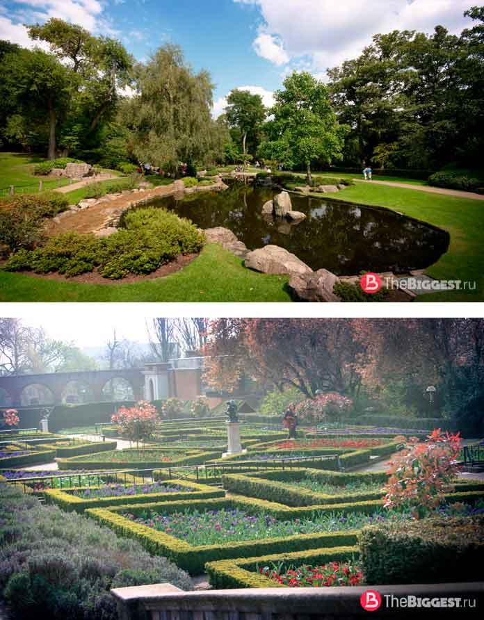Красивые парки Лондона: holland park