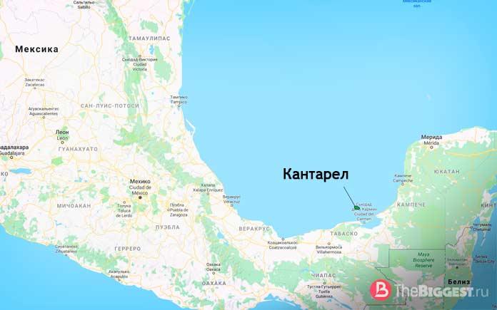 Большие месторождения нефти: Кантарел