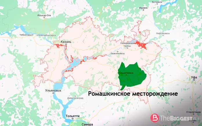 Ромашкинское месторождение