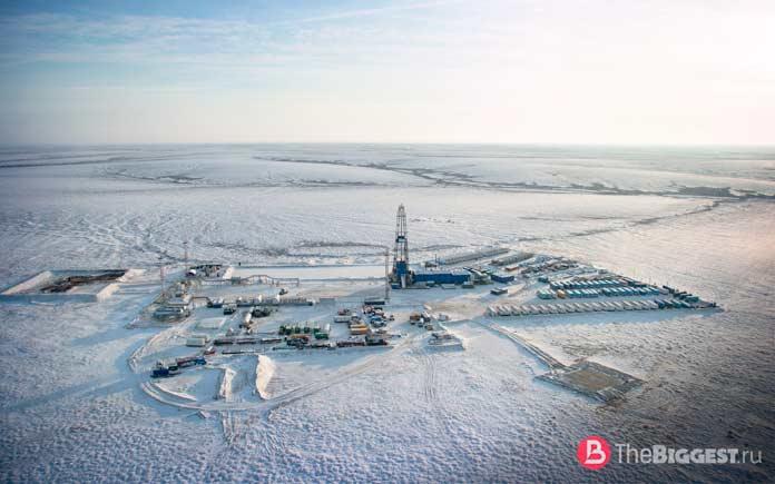 Крупные месторождения нефти: Восточно-Мессояхское