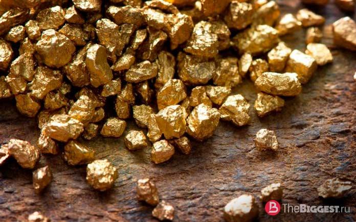 Самородки. Самые большие месторождения золота