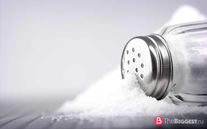 факты про соль