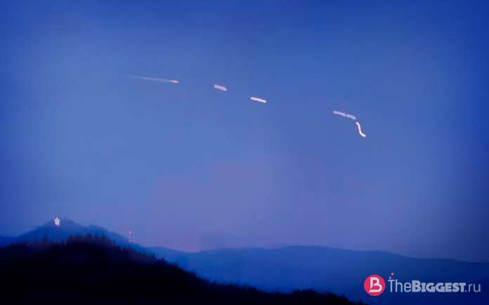 Блуждающие огни горы Браун