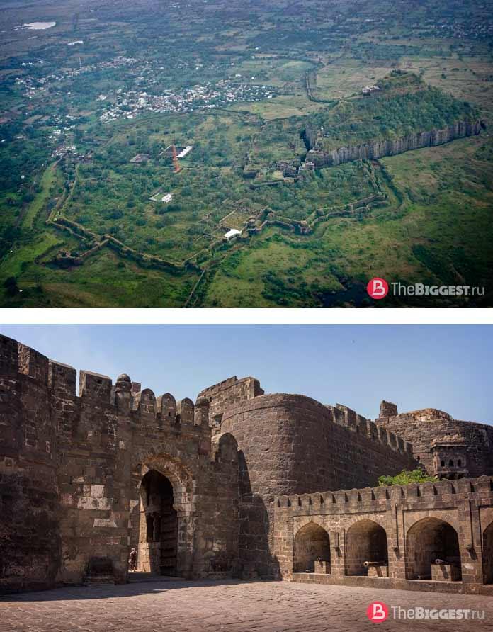 Форт Девагири-Даулатабад
