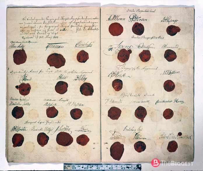 Норвегия 1814