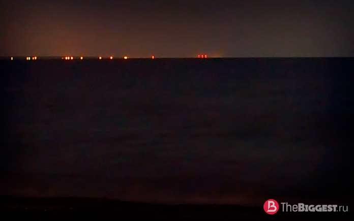 Огненный корабль залива Шалёр