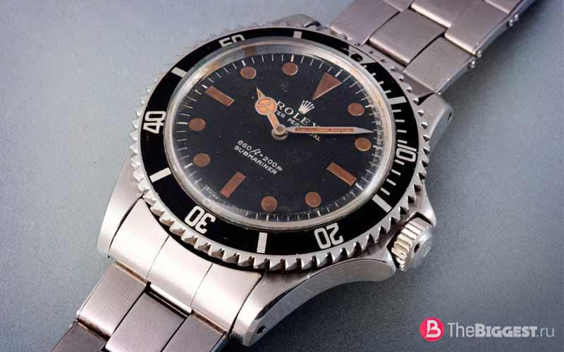 James Bond 1973 Rolex 5513