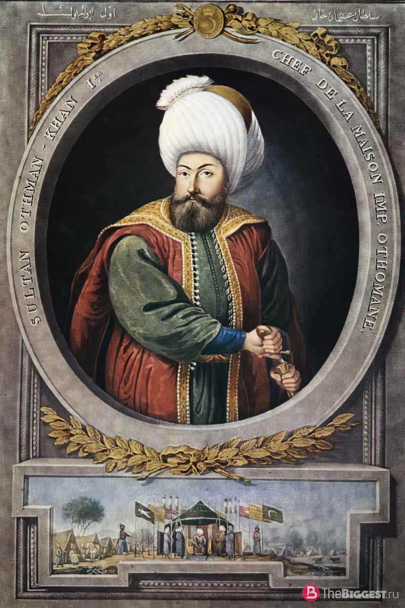 Osman I - один из знаменитых исламских воинов