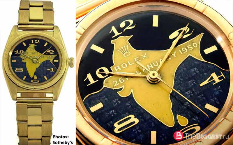 Rajendra Prasad's Gold Rolex Oyster