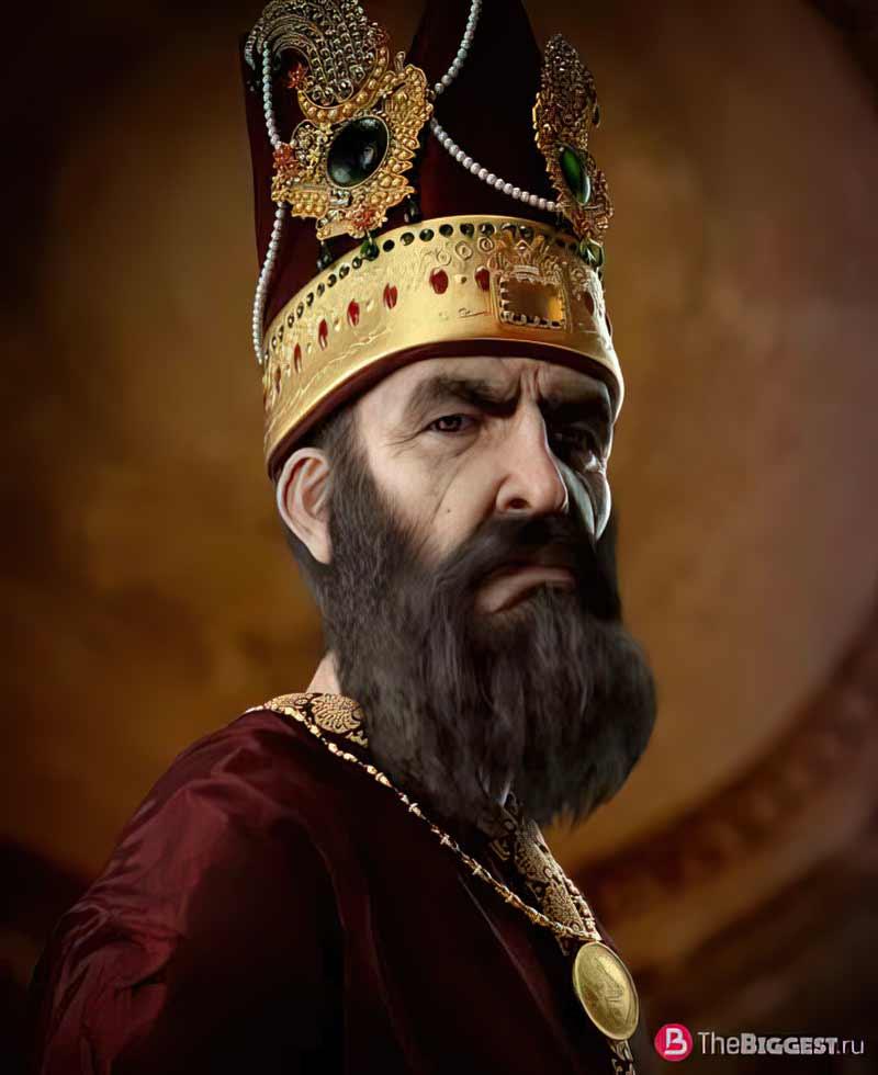 Шах Надер - один из известных исламских воинов