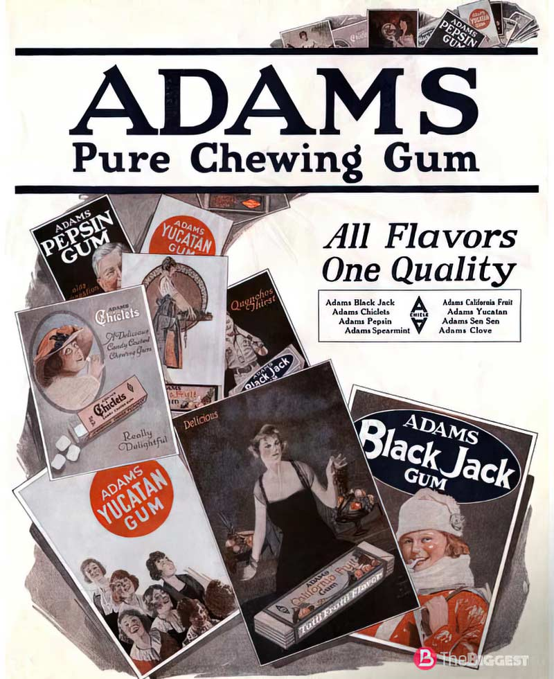 Thomas adams gum