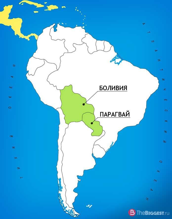 Боливия и Парагвай