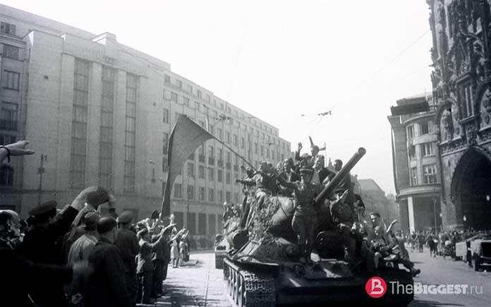 Чехословацкий анклав нацистов
