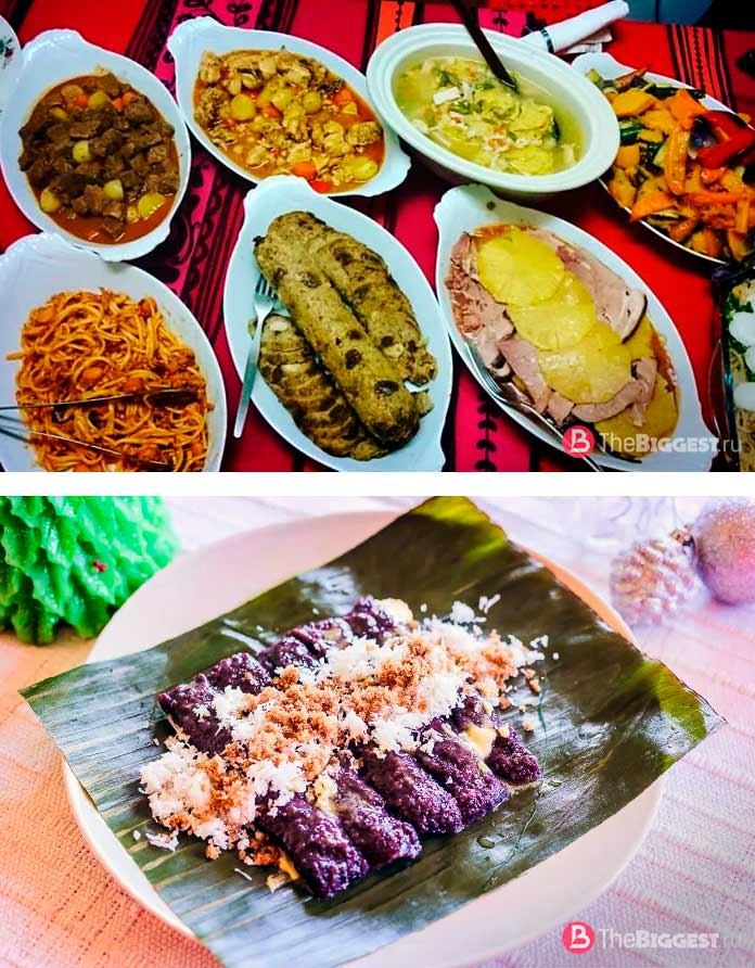 Филиппинские рождественские блюда