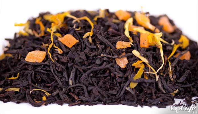 Манго в чае