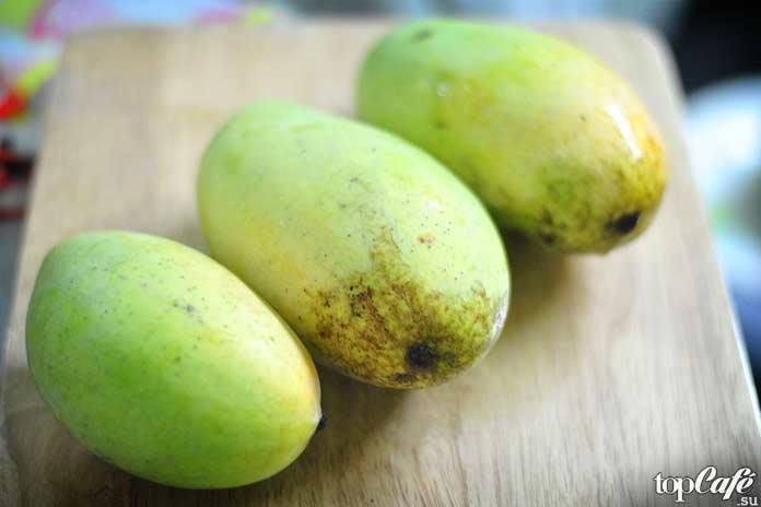 Рецепты с манго от читателей