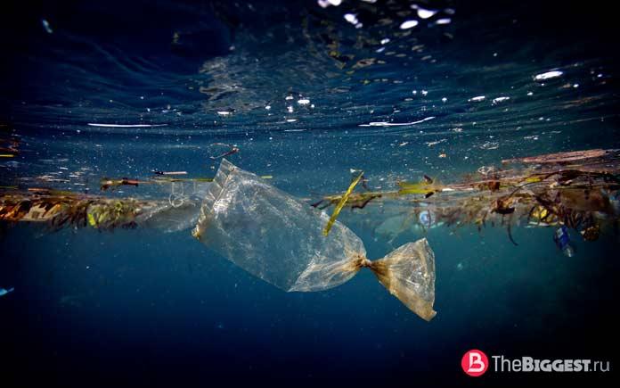 Мусор пластика