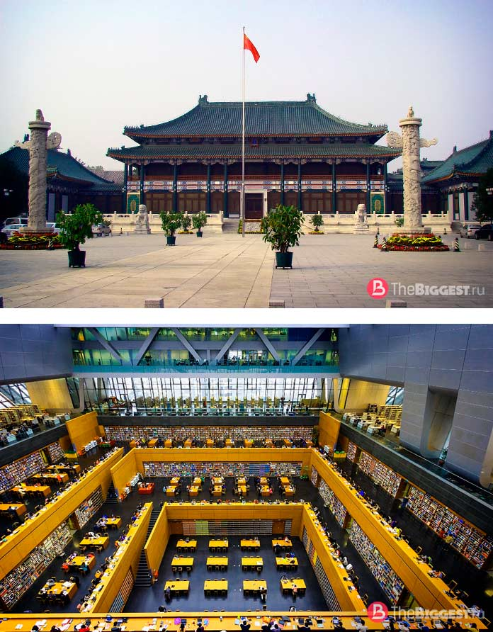 Национальная библиотека Китая