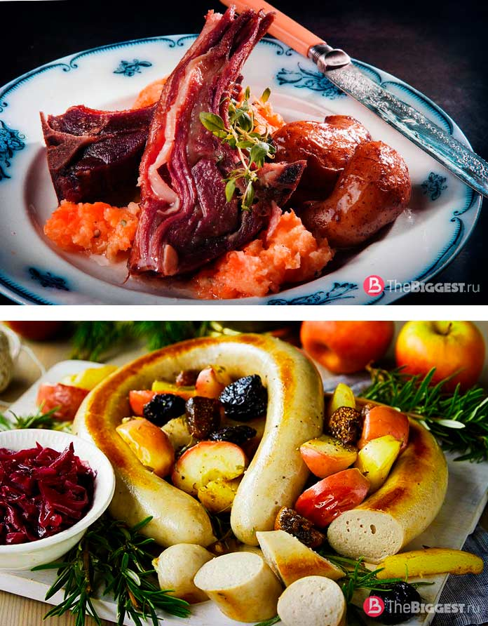 Норвежские рождественские блюда